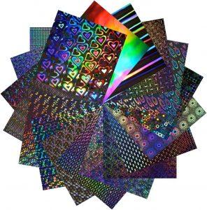 Dekorativní holografické folie