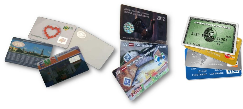 Karty, průkazky, povolenky ID karty